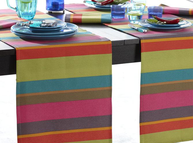 un chemin de table pour une d co de table ultra chic. Black Bedroom Furniture Sets. Home Design Ideas