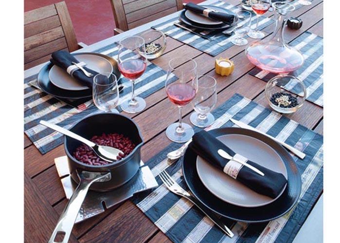 Une d co de table estivale elle d coration for Objet de decoration de table