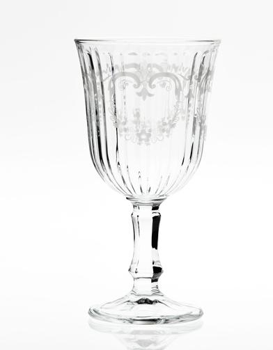 Verre a pied spritz - Bout de verre dans le pied ...