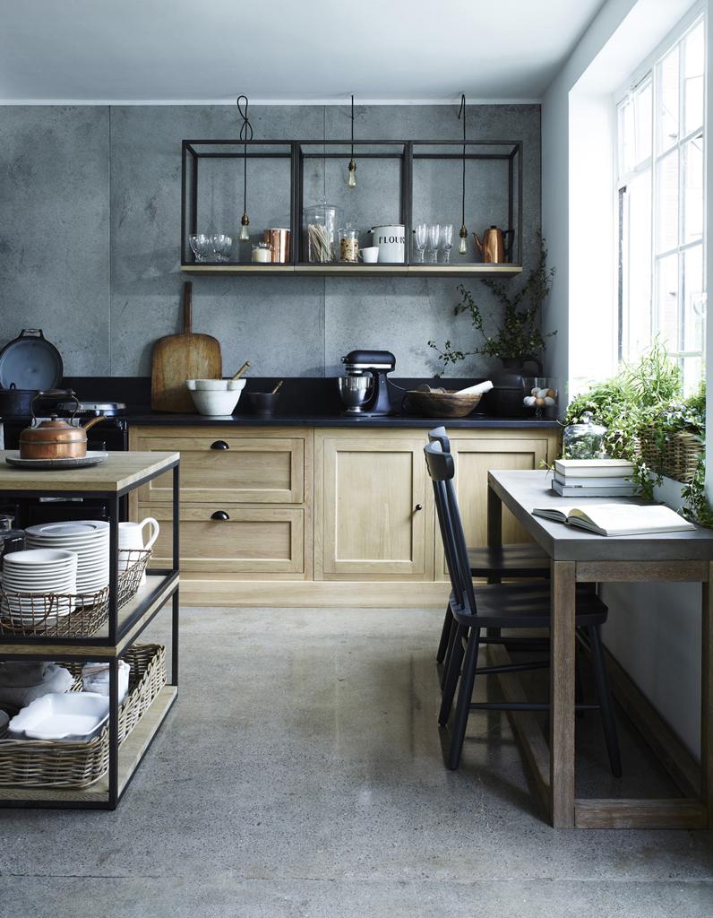 Cuisine Campagne Découvrez Toutes Nos Inspirations Elle Décoration - Cuisiniere gaz four multifonction pour idees de deco de cuisine