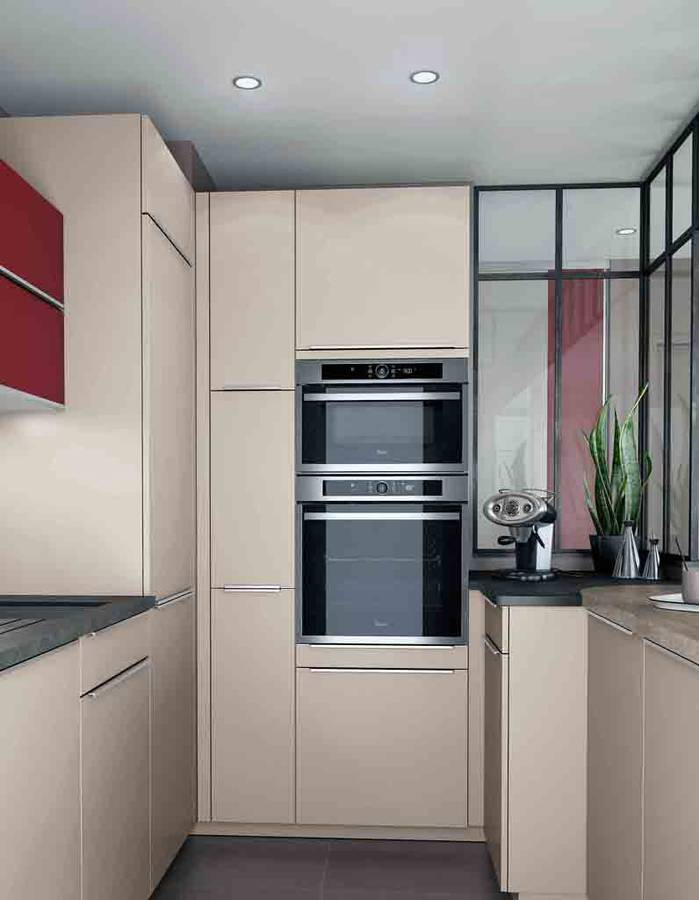 Petite cuisine decouvrez toutes nos inspirations elle for Petite cuisine équipée avec meuble colonne salle a manger