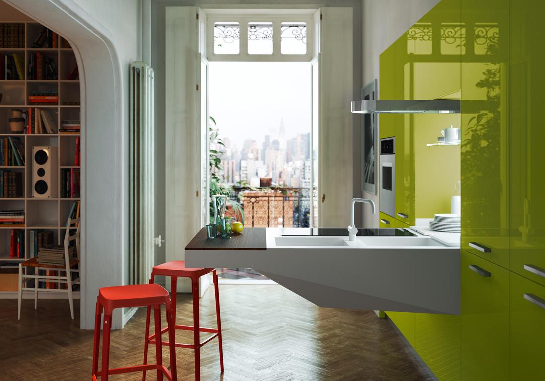 petite cuisine d couvrez toutes nos inspirations elle. Black Bedroom Furniture Sets. Home Design Ideas