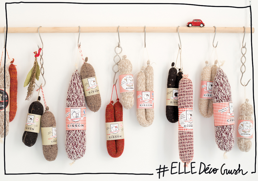 Elled Cocrush Saucisson Et Tricot Un Duo D Co Qui Va Cartonner En Cuisine Elle D Coration