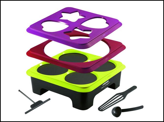 Enfin un appareil pour r ussir de jolies cr pes elle - Appareil cuisine tout en un ...