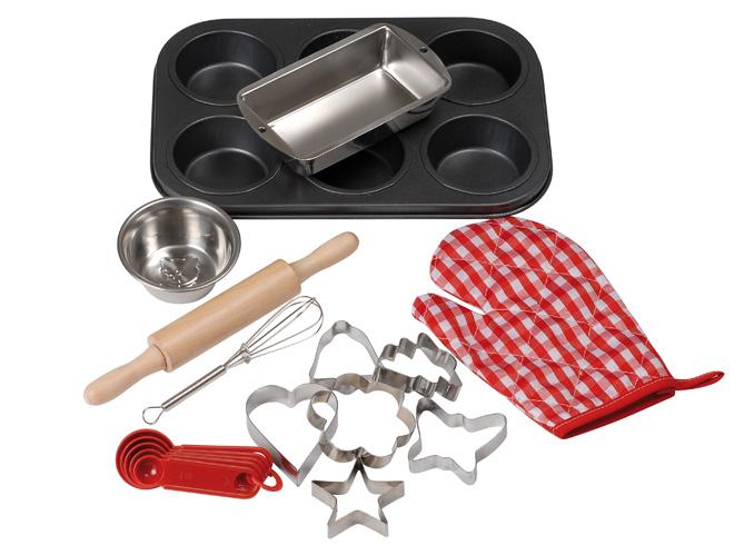 Les enfants passent en cuisine elle d coration - Kit de cuisine pour enfant ...