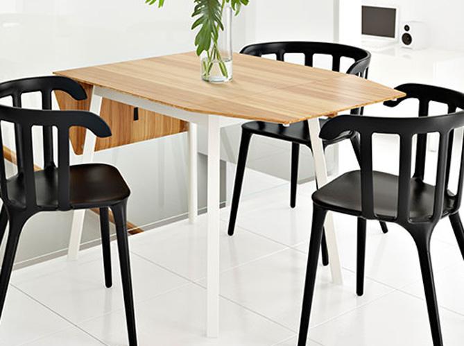Table rallonges du mobilier aussi pratique que for Table rallonge cuisine