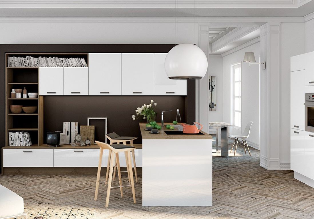 Nos id es d coration pour la cuisine elle d coration for Deco cuisine salon 30m2