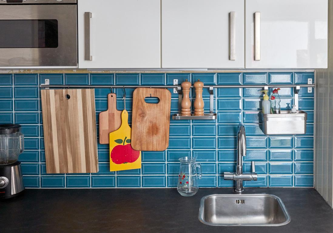 Toutes nos astuces d co pour am nager une petite cuisine for Amenagement mur cuisine
