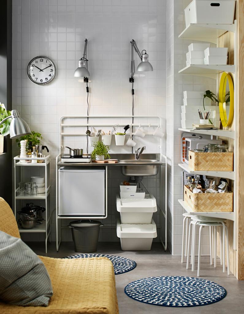 Toutes nos astuces d co pour am nager une petite cuisine - Idee amenagement cuisine petit espace ...