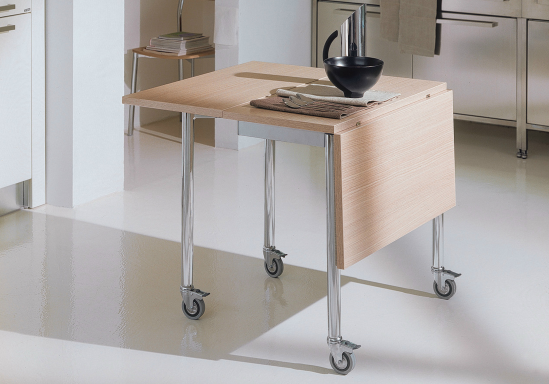 Toutes nos astuces d co pour am nager une petite cuisine - Table escamotable cuisine ikea ...