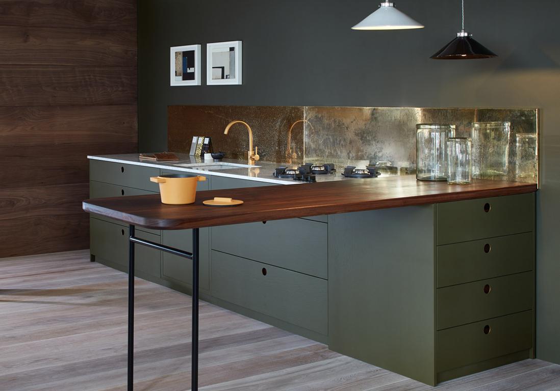 Une cuisine design pour un int rieur contemporain elle d coration - Credence design cuisine ...