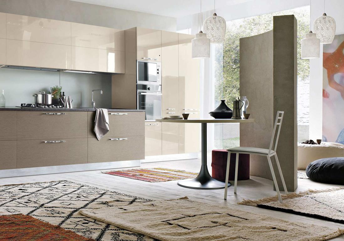 une cuisine design pour un int rieur contemporain elle d coration. Black Bedroom Furniture Sets. Home Design Ideas