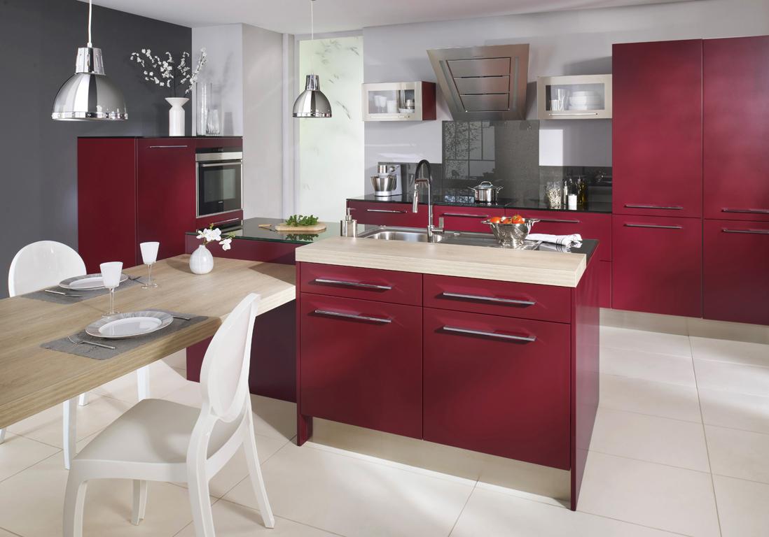 Cuisine Lapeyre : nos modèles de cuisine préférés - Elle Décoration