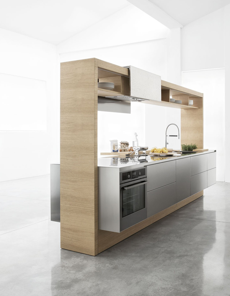 photos cuisine bois la preuve que les cuisines en bois sont contemporaines elle d coration. Black Bedroom Furniture Sets. Home Design Ideas