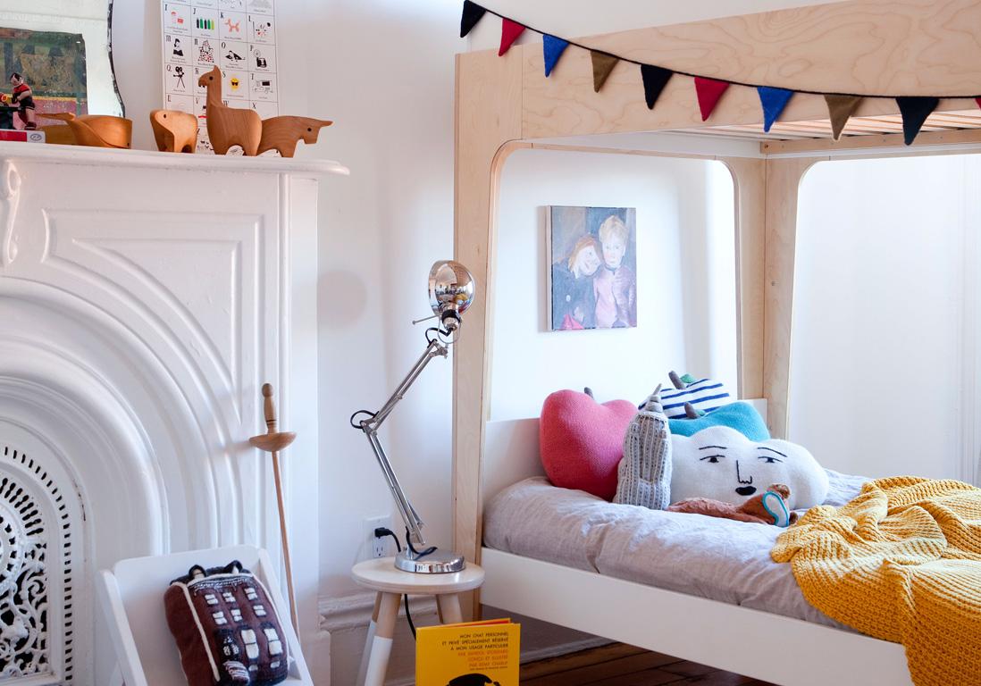 Comment am nager une petite chambre d enfant nos - Comment amenager une petite chambre mansardee ...