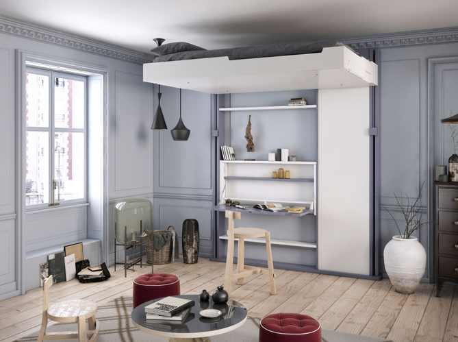 Comment d corer un petit appartement sans l encombrer - Idee deco appartement moderne ...