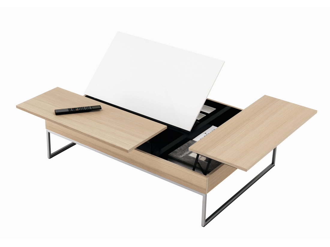Gain de place 30 meubles astucieux elle d coration - Table basse gain de place ...
