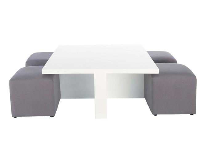 Des meubles astucieux et sympas pour votre studio elle - Table pour petit appartement ...