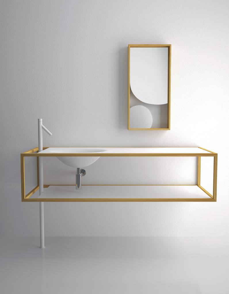 5 styles pour une salle de bain tendance elle d coration for Meuble salle de bain une vasque