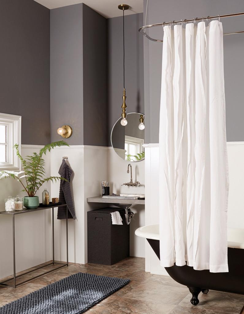 30 id es pour d corer votre salle de bains sans la r nover for Idee salle de bain couleur