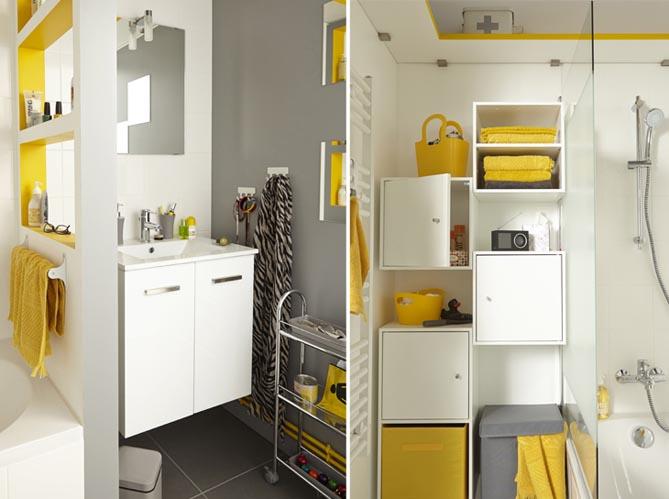 5 id es d am nagement pour une petite salle de bains elle d coration. Black Bedroom Furniture Sets. Home Design Ideas