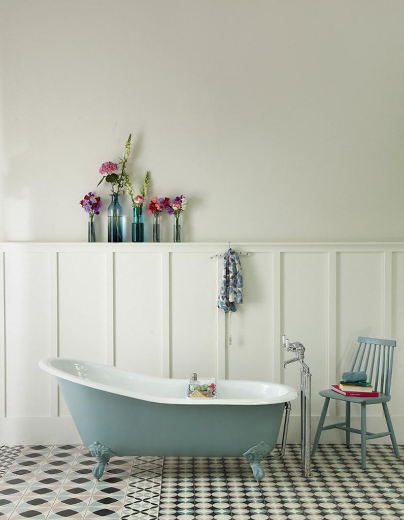 Couleur salle de bains : 50 astuces pour apporter de la couleur à ... - Equipement Salle De Bain