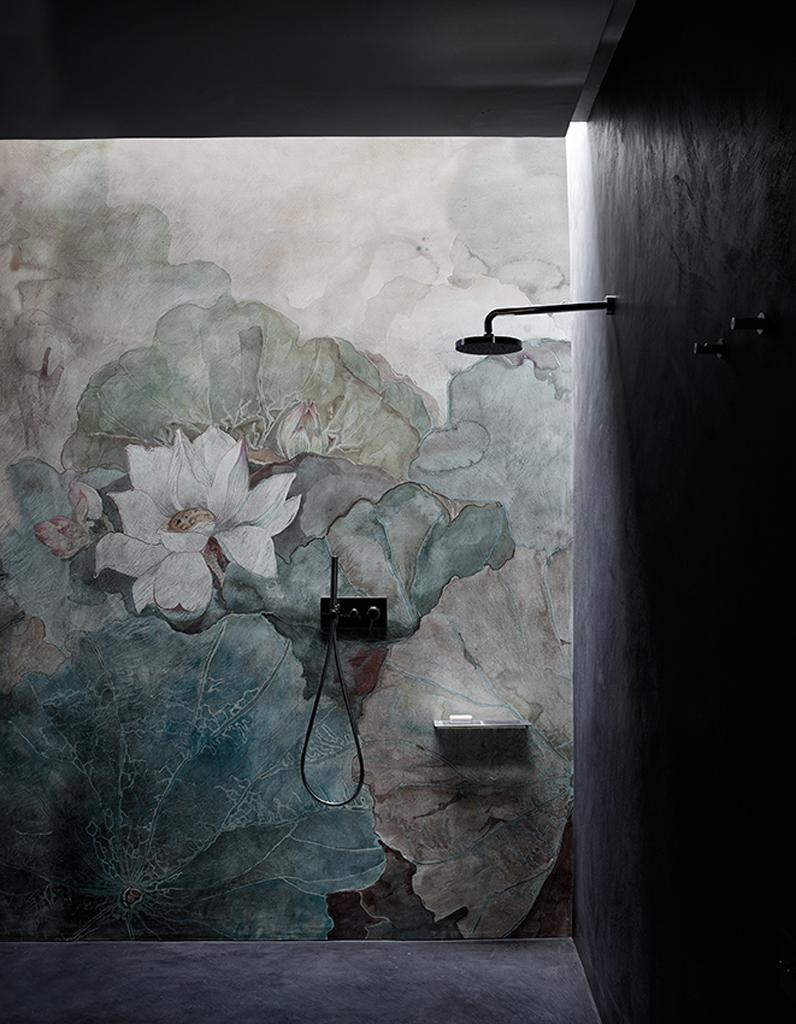 couleur salle de bains 15 astuces pour apporter de la couleur la salle de bains elle. Black Bedroom Furniture Sets. Home Design Ideas