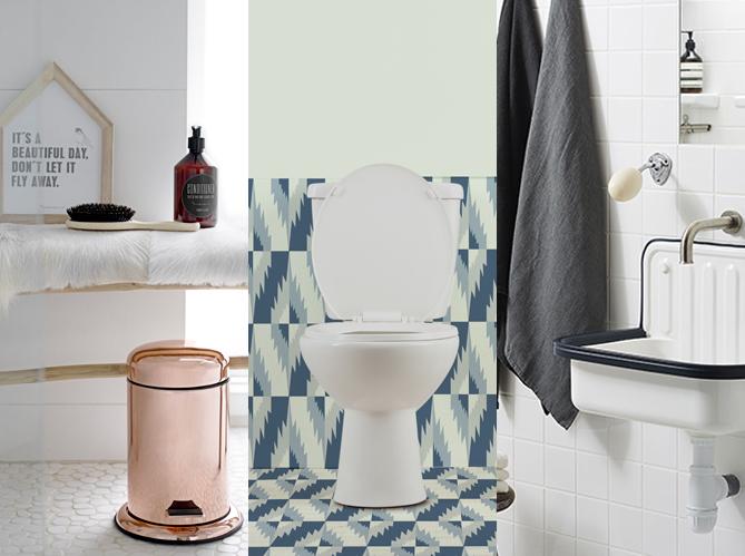 d corer ses toilettes sans faire ringard ni kitsch elle d coration. Black Bedroom Furniture Sets. Home Design Ideas