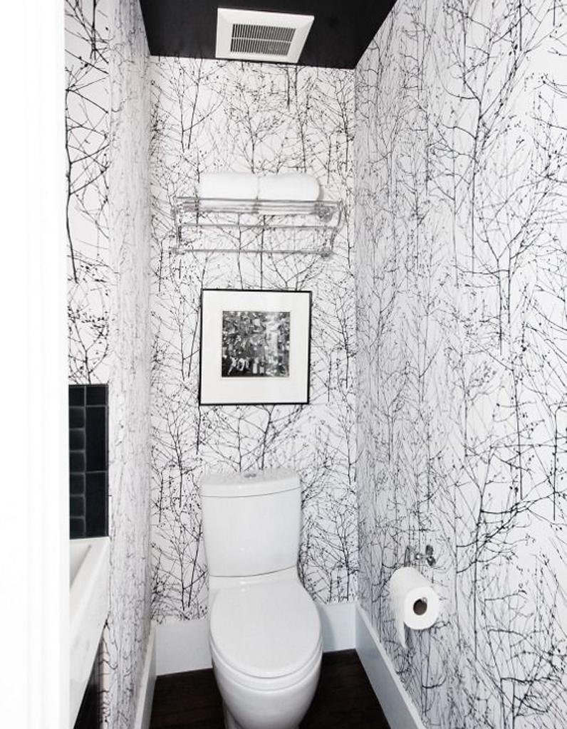 decorer ses toilettes. Black Bedroom Furniture Sets. Home Design Ideas