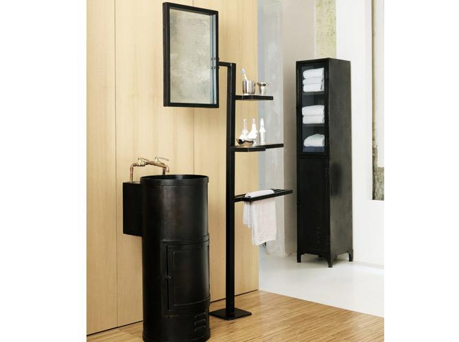 40 meubles pour une petite salle de bains elle d coration for Accessoires deco salle de bain design