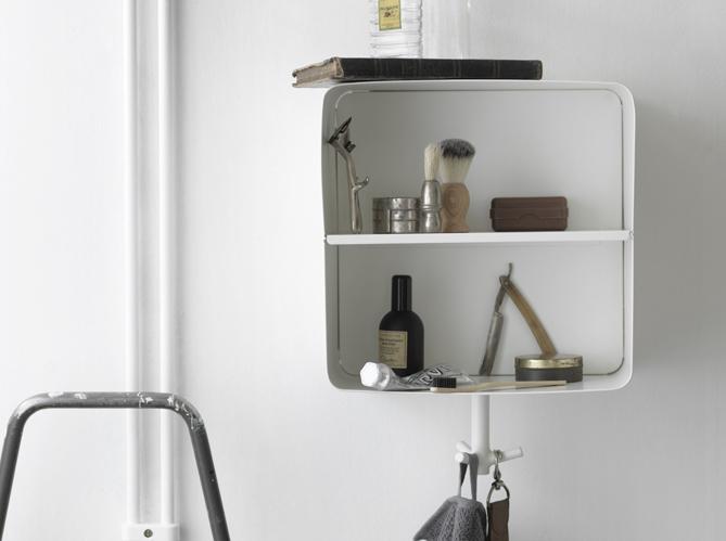 Petite salle de bains les meubles qu 39 il vous faut for Meuble d angle mural
