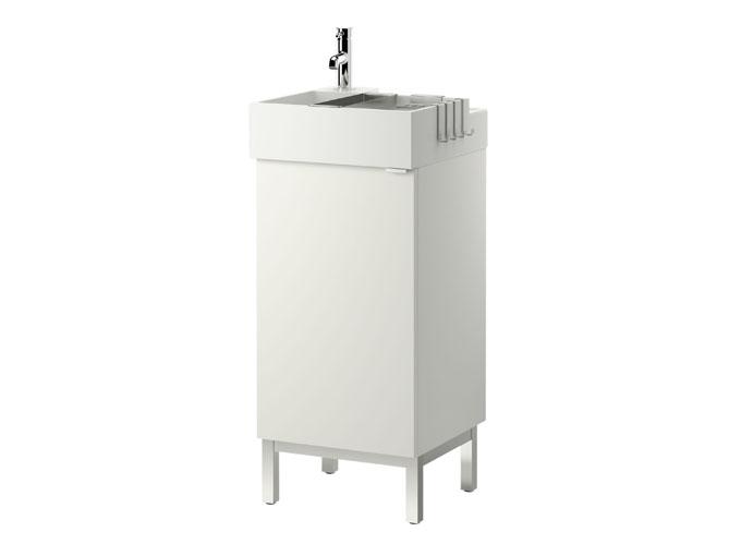 Meuble de salle de bain pour petit espace meuble sous for Petit lavabo salle de bain