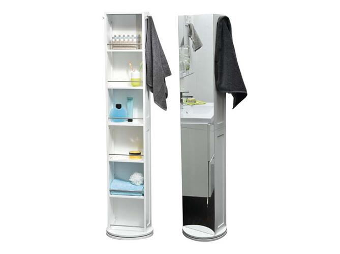Petit meuble salle de bains notre s lection elle for Meuble de rangement colonne