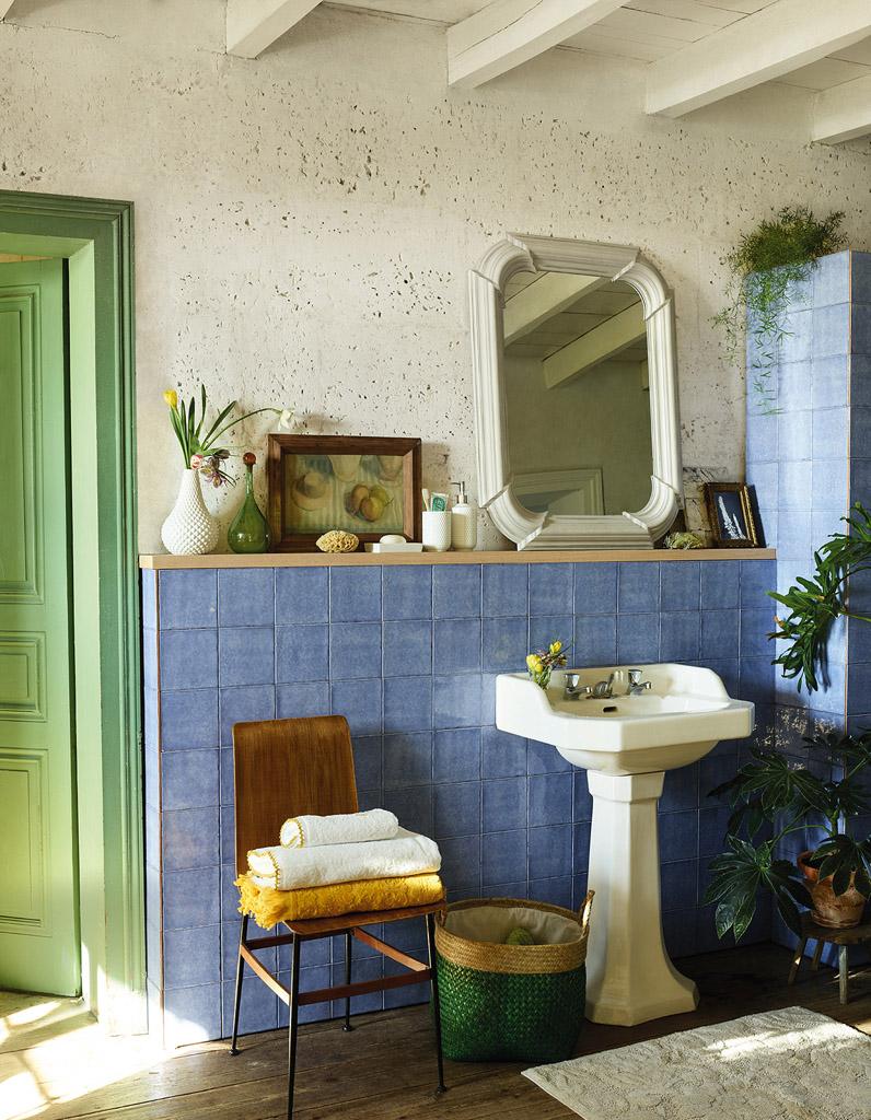 Voici les plus jolis miroirs de salle de bains elle - Salle de bain a l ancienne ...
