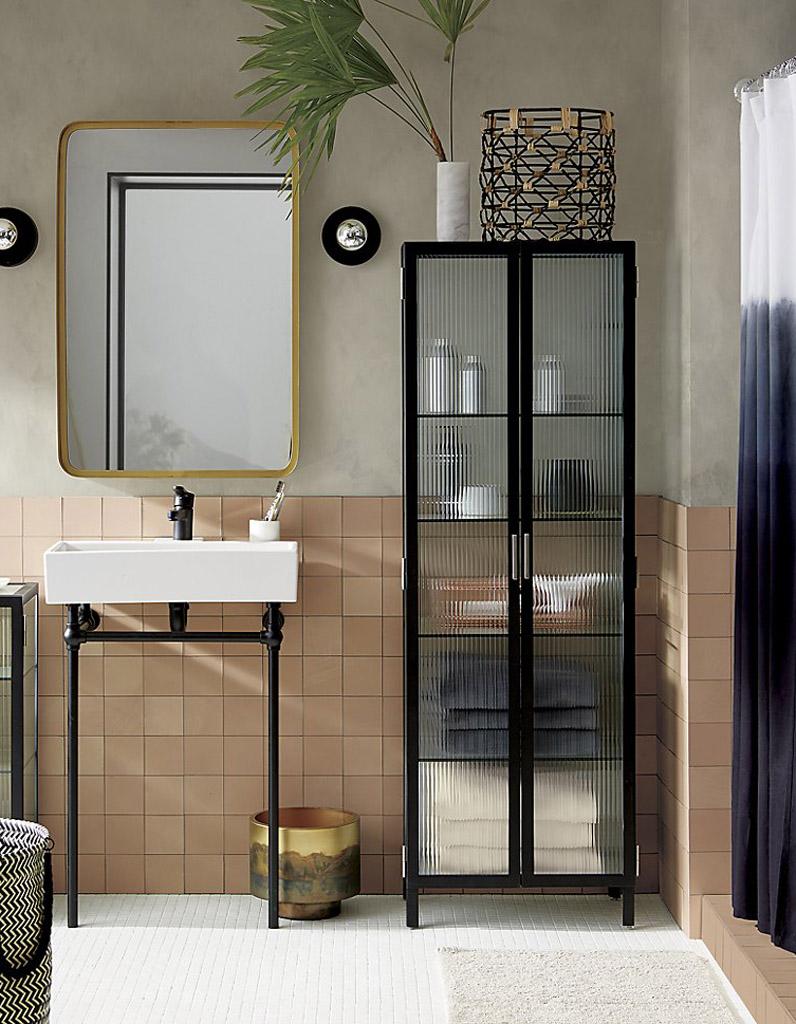 Miroir salle de bain maison du monde interesting cabine - Miroir salle de bain maison du monde ...