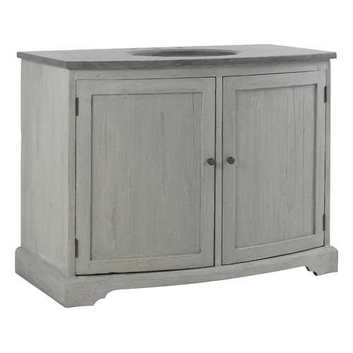 Un meuble ancien pour ma salle de bains elle d coration for Meuble pour piece mansardee