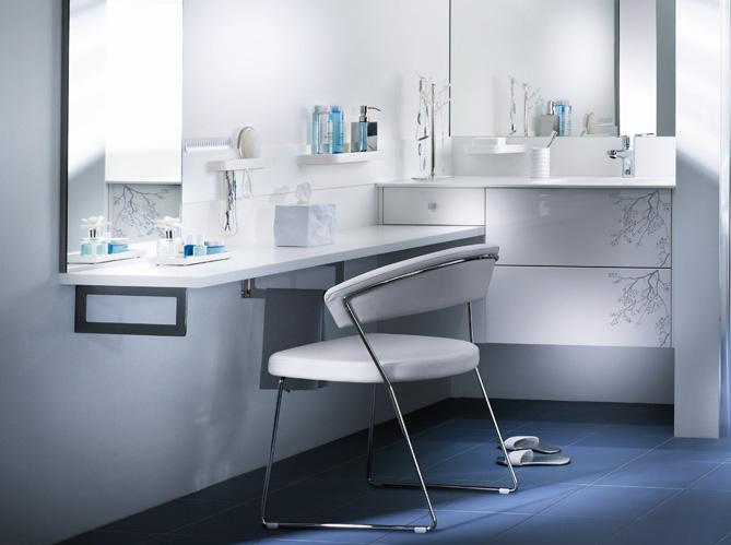 Salle de bains pour deux comment bien l organiser for Organiser sa salle de bain