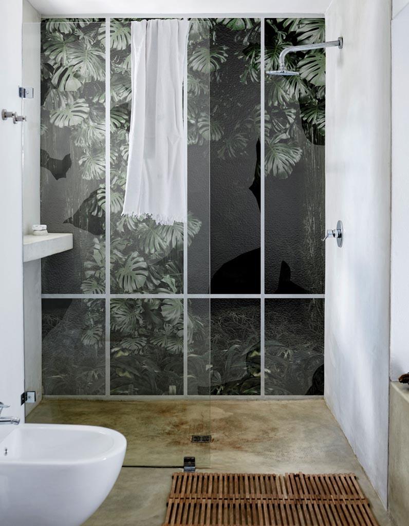 Nos id es de plantes pour une salle de bain v g tale elle d coration - Mur vegetal exterieur leroy merlin ...