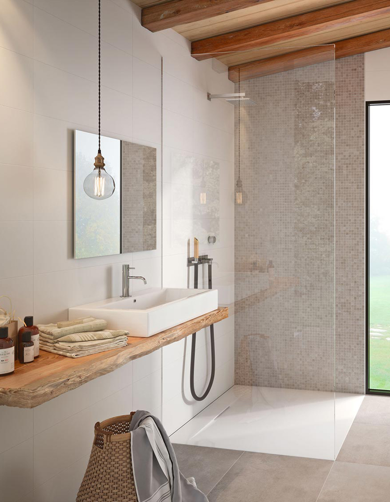 10 fa ons de se cr er une salle de bains zen elle d coration for Zellige marocain salle de bain