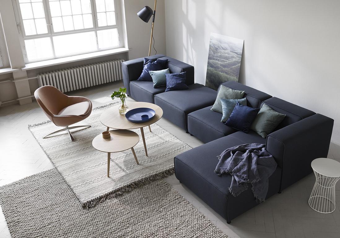 Toutes Nos Astuces Pour Un Salon Zen Elle Décoration - Coussin pour salon en rotin pour idees de deco de cuisine