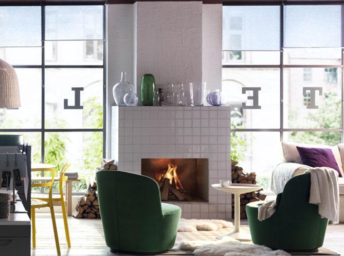 5 id es d co pour habiller sa chemin e elle d coration. Black Bedroom Furniture Sets. Home Design Ideas