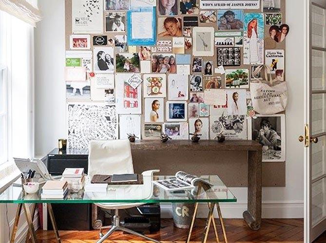 accrochez vos photos aux murs avec style elle d coration. Black Bedroom Furniture Sets. Home Design Ideas