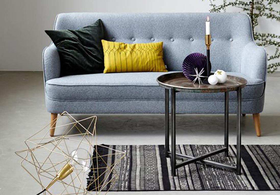 65 id es d co pour accompagner un canap gris elle. Black Bedroom Furniture Sets. Home Design Ideas