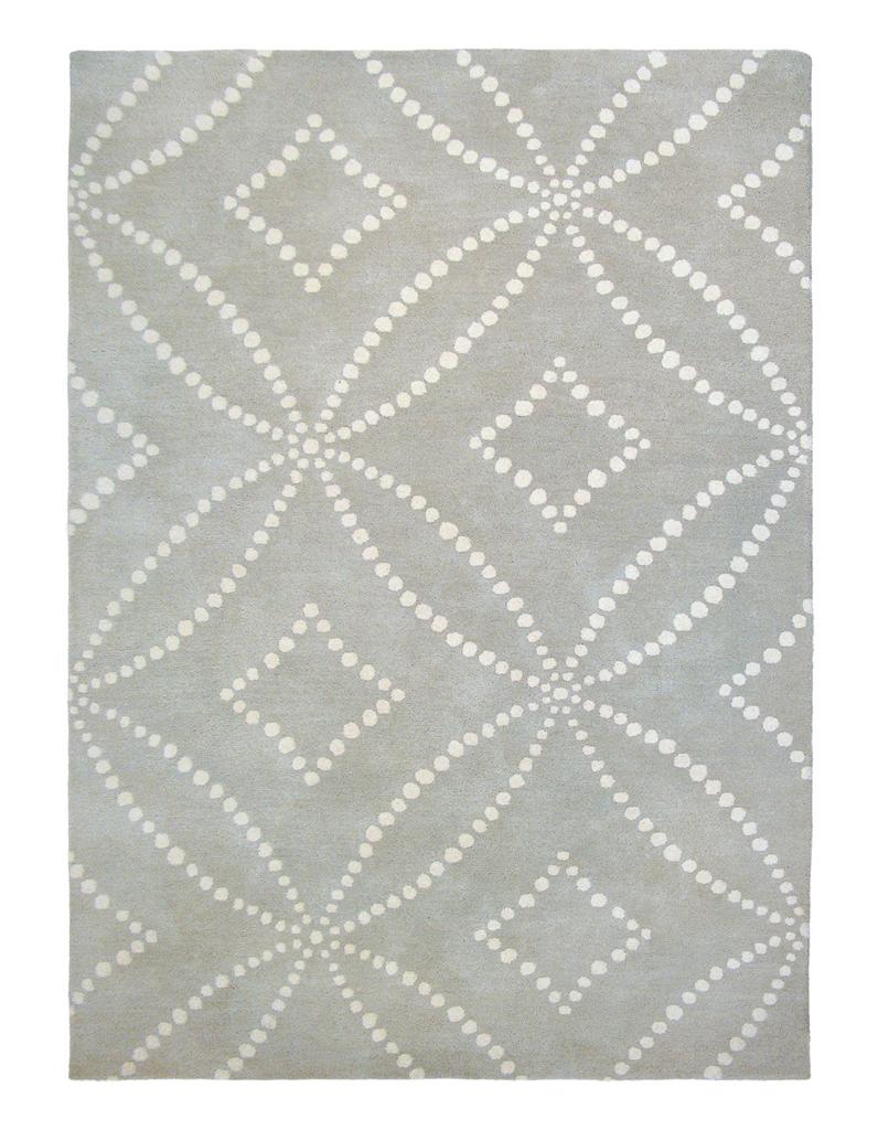 65 id es d co pour accompagner un canap gris elle for Tapis salon graphique