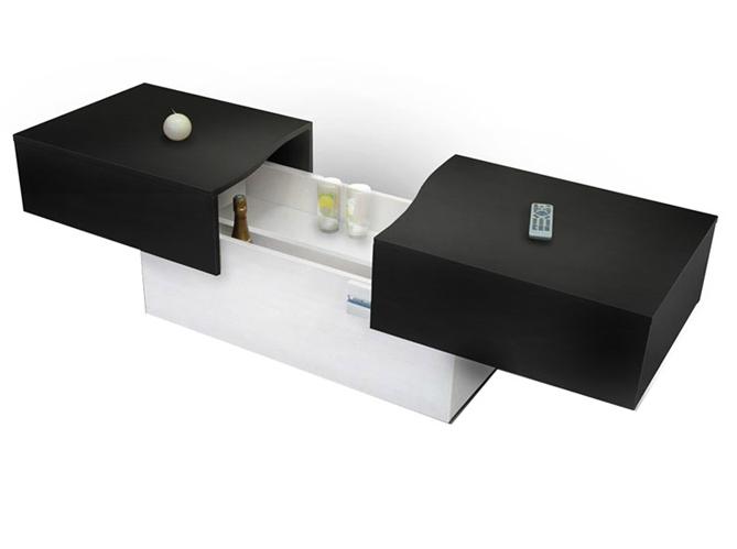 50 tables basses pour tous les styles elle d coration - Table basse coffre bar ...