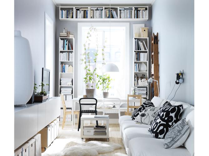 1 salon 1 biblioth que elle d coration - Deco cocooning salon ...