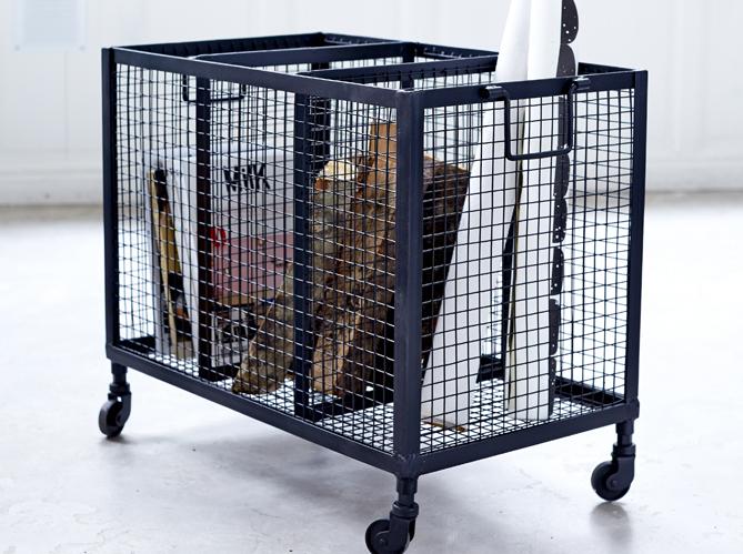 l 39 inspiration du jour un casier industriel elle d coration. Black Bedroom Furniture Sets. Home Design Ideas