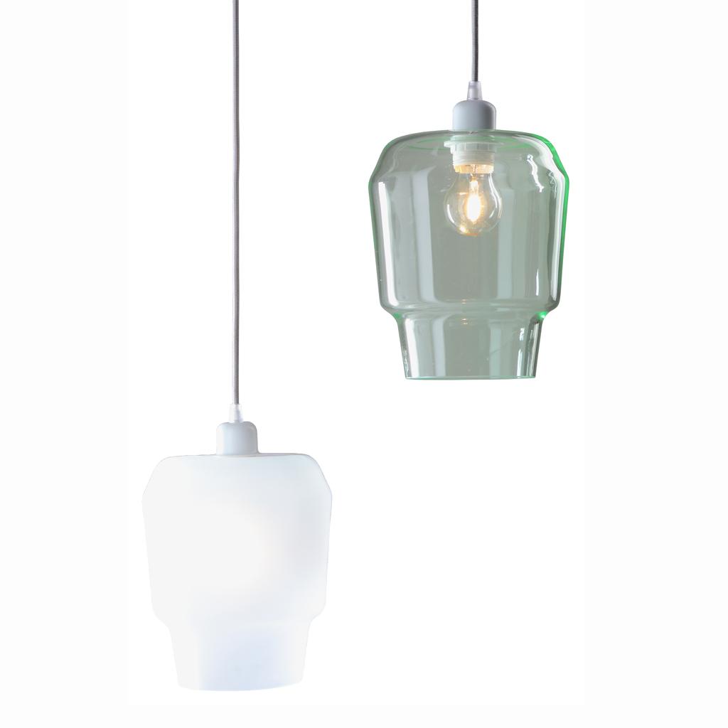 suspension cuisine verre suspension blanche et dor pas. Black Bedroom Furniture Sets. Home Design Ideas