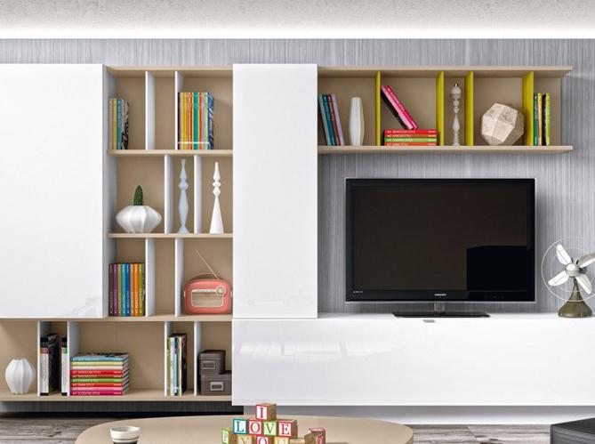 le meuble tv fait sa star elle d coration. Black Bedroom Furniture Sets. Home Design Ideas