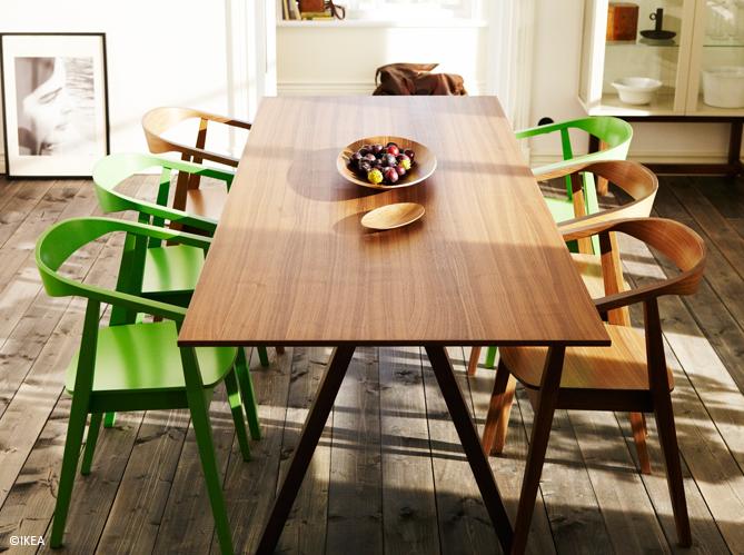 des tables de repas pour tous les styles elle d coration. Black Bedroom Furniture Sets. Home Design Ideas